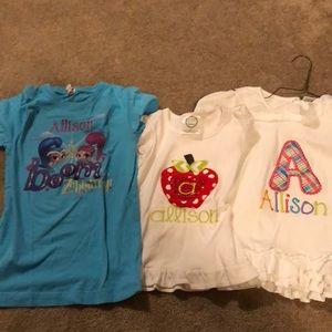 Other - Allison shirts